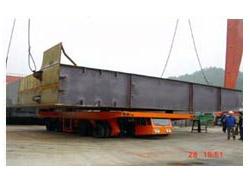 大方DCY100型动力平板运输车