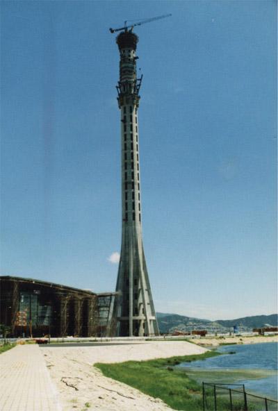 澳门观光电视塔,总高度342