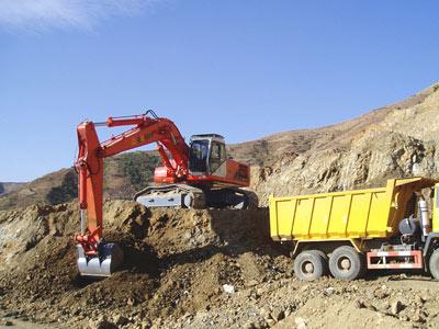 邦立ce400-5反铲液压挖掘机参数图片