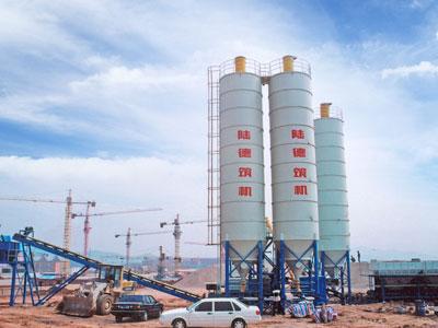陆德WCBD600系列稳定土厂拌设备