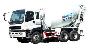 海诺HNJ5258GJBA(10立欧)混凝土搅拌运输车