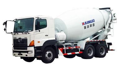 海诺HNJ5258GJBA (9立欧)混凝土搅拌运输车